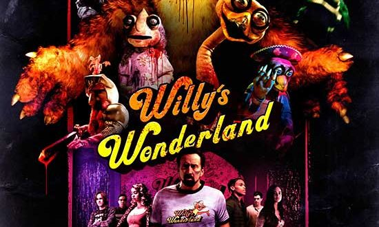 Official Trailer Released! WILLY'S WONDERLAND | Starring Nicolas Cage | Premiering at Home February 12th