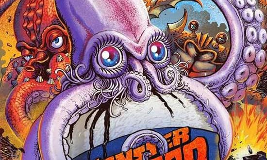 Kaiju All-Out War In – Minoru Kawasaki's MONSTER SEAFOOD WARS – Limited Edition VHS + BluRay Now On Sale!!