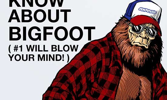 Debuts May 7th – New Clip Avail | Genre Comedy 15 THINGS YOU DIDN'T KNOW ABOUT BIGFOOT (#1 WILL BLOW YOUR MIND)