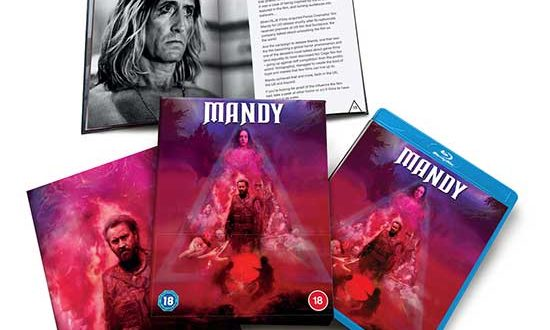 NEWS: Cult masterpiece MANDY starring Nicolas Cage coming to Limited Edition Blu-ray