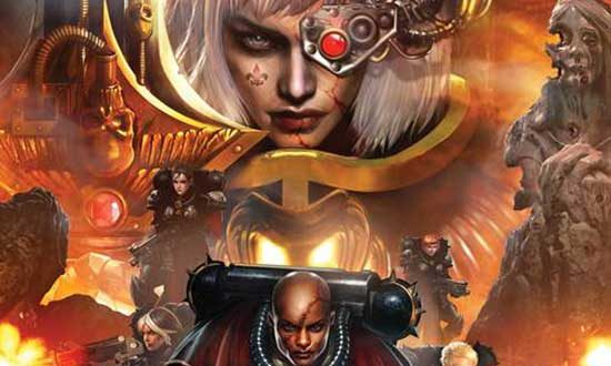 SURVIVE THE GRIM DARKNESS OF THE FAR FUTURE WITH THE SISTERS OF BATTLE IN MARVEL COMICS' NEW WARHAMMER 40,000 SERIES!
