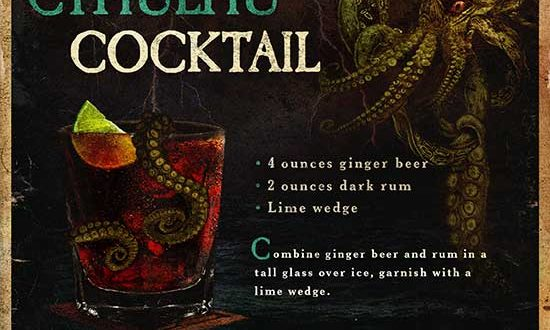 New Cthulhu Cocktail Recipe – H.P. Lovecraft's The Deep Ones