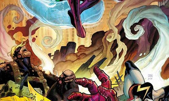 JOURNEY ACROSS THE TIMESTREAM AND BEYOND IN NEW KANG THE CONQUEROR #1 COVERS!