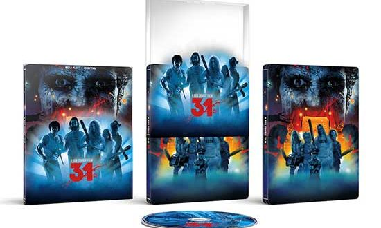 31 arrives on Blu-ray + Digital Steelbook from Lionsgate, exclusively at Target 10/26