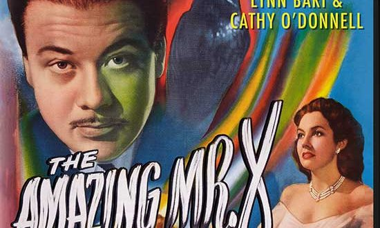 Atmospheric Film Noir Masterpiece, The Amazing Mr. X (1948)  Coming to Special-Edition Blu-ray & DVD, Oct. 5th