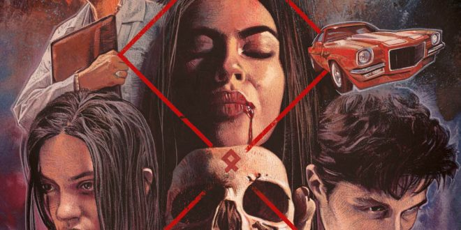 Official Trailer / Poster for Night of the Devil starring Veronica Carlson and Lauren LaVera